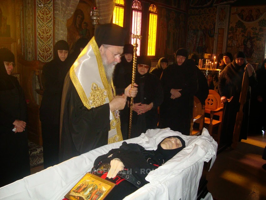 Funeral of Mother Superior Isadora