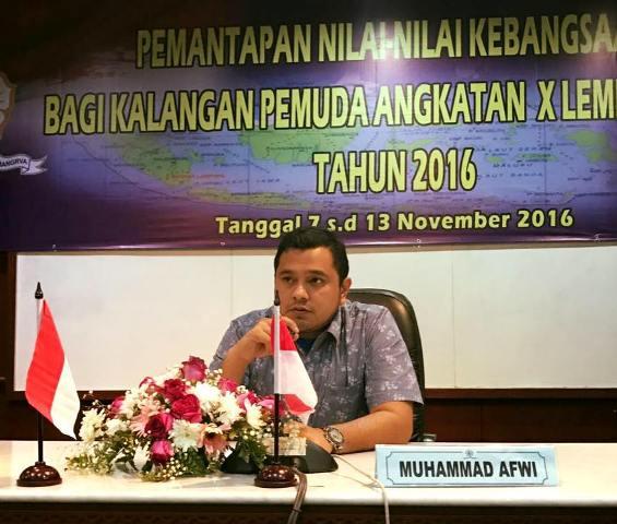 Ketua KNPI Aceh Timur Selesaikan Pendidikan LEMHANAS RI 2016