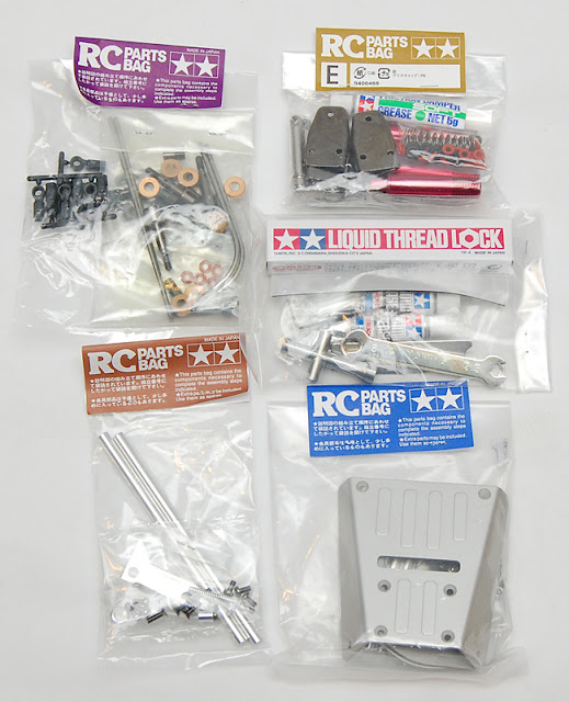 Tamiya High Lift parts bags