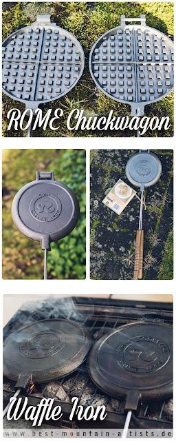 Gear of the Week #GOTW KW 07  ROME Chuckwagon Waffeleisen  Cast-Iron Waffle-Iron  Outdoor-Waffeleisen 11