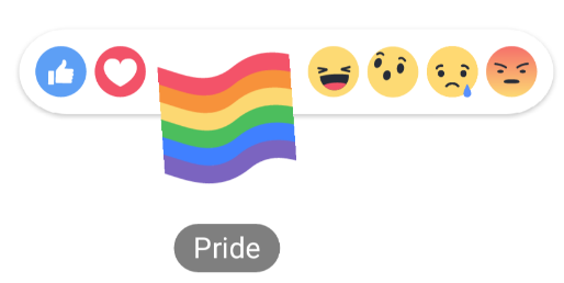 How to get the Pride flag on Facebook