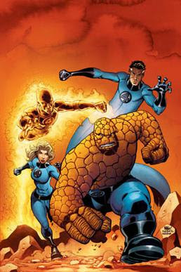 miss invicible,mr fantastic,the thing