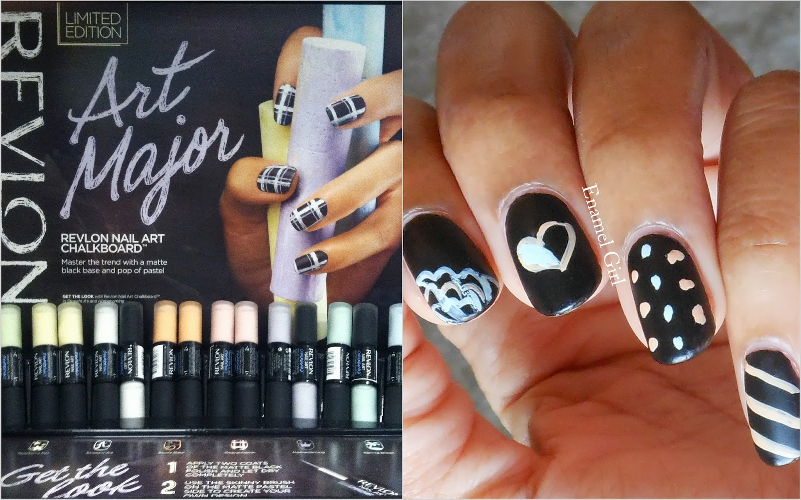 Enamel Girl: Revlon Nail Art Chalkboard Polish - Review ...