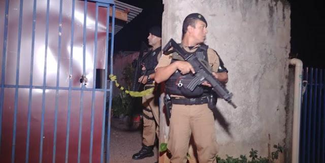 Campo Mourão: Homem fere adolescente e se mata após chegada da PM