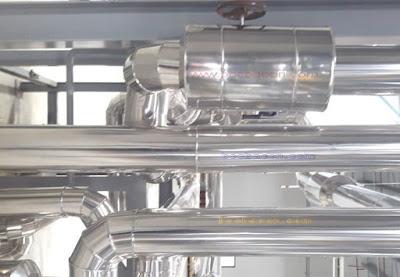 Bọc bảo ôn đường ống thiết bị