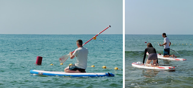 Learning to Stand Up Paddle - Punta Prima