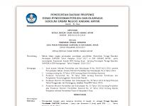 Contoh Format SK Operator Sekolah Tahun Ajar 2016/2017