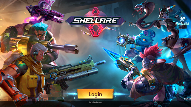 Total Size Game ShellFire Moba FPS - Resmi Rilis Moba Kok FPS!