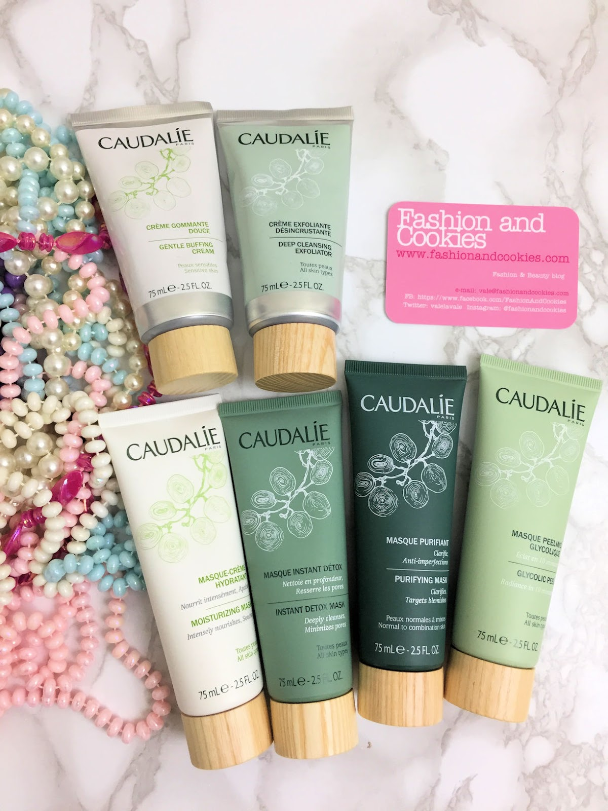 Caudalie skincare: collezione maschere e gommage su Fashion and Cookies beauty blog, beauty blogger