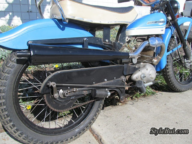 Xe cổ Harley Davidson Scat 1965 175cc