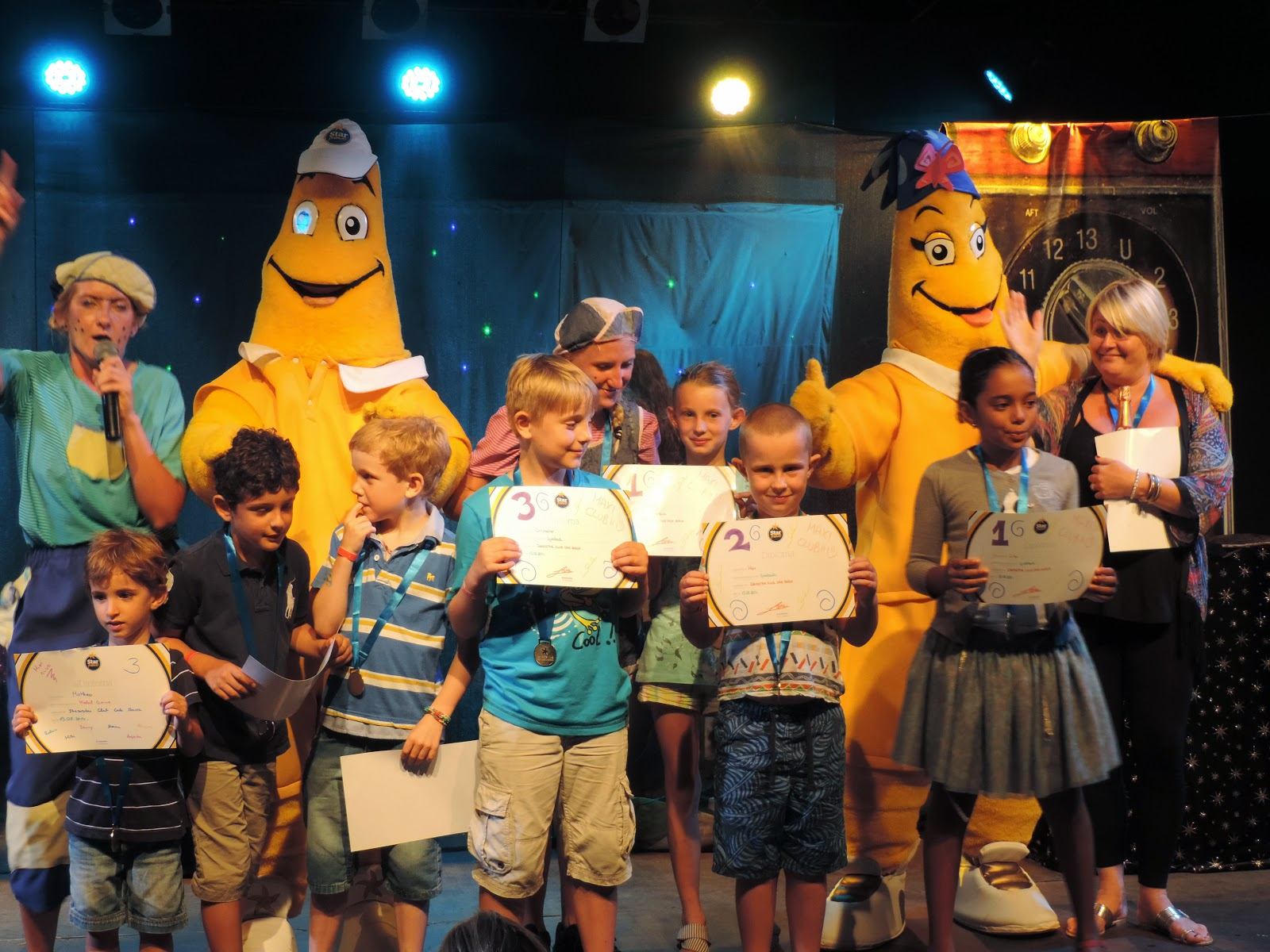 majorca holiday kids prizegiving ceremony