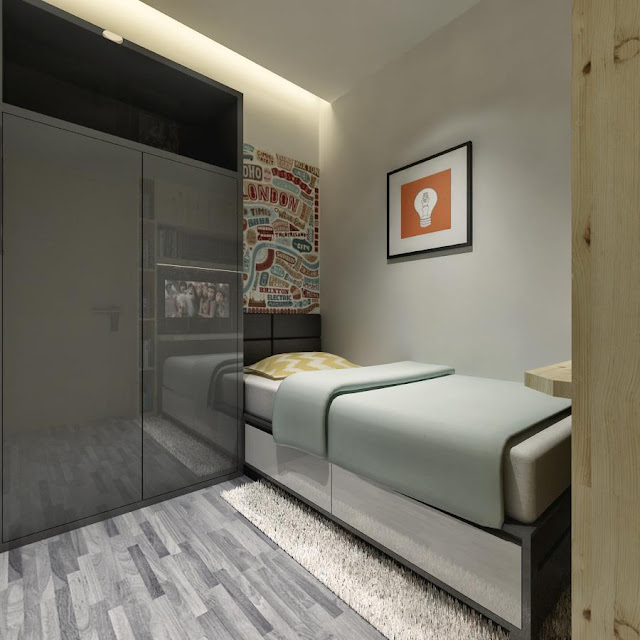 Child bedroom Crown Sky Apartemen