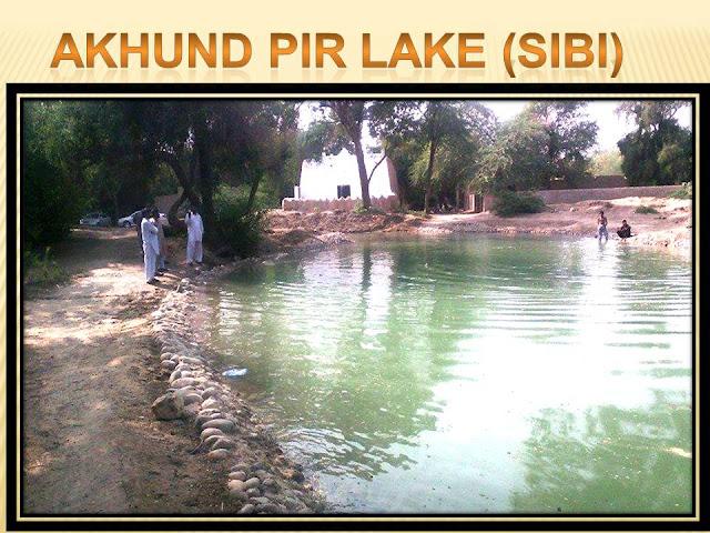 Akhund Pir Lake Sibi