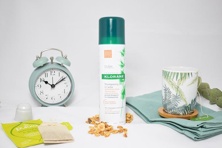avis nouveau shampooing sec ortie Klorane