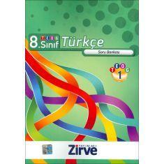 Zirve 8.Sınıf TEOG-1 Türkçe Soru Bankası (2016)