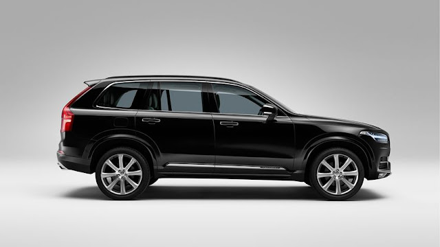 All New Volvo XC90 crossover More safe side view