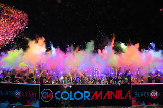 Color Manila CM Blacklight Run
