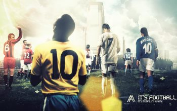 Wallpaper: It is Football - It is Peoples Game
