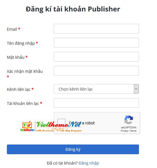 Kiếm tiền từ Website hoặc Blog thông qua thông báo đẩy (Push Notification) với Pushtimize