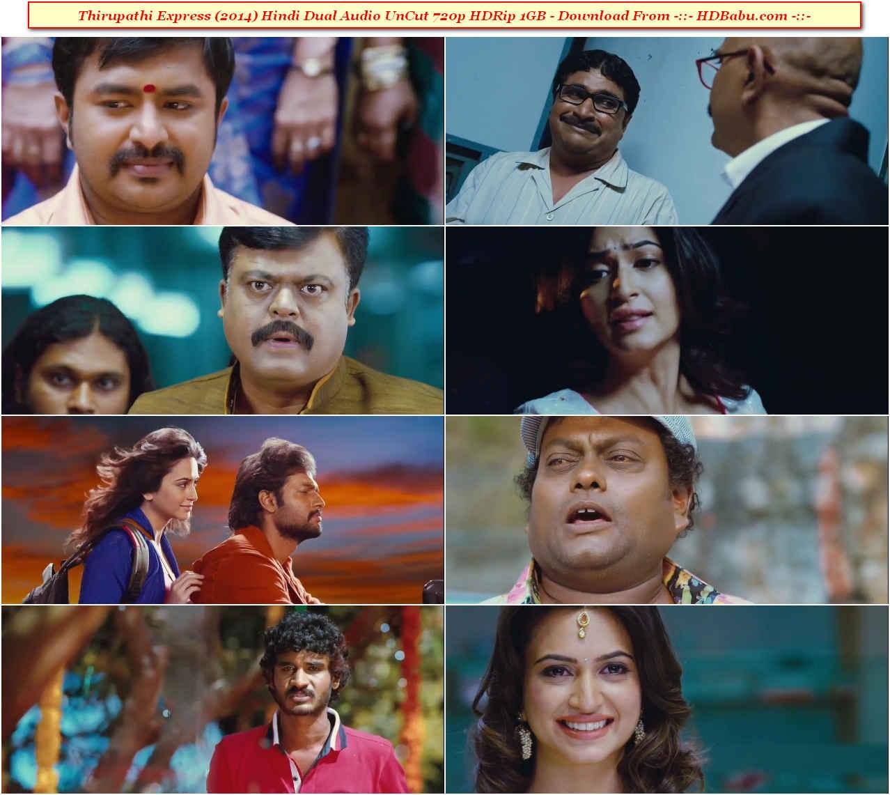 Thirupathi Express Hindi Dubbed Full Movie Download