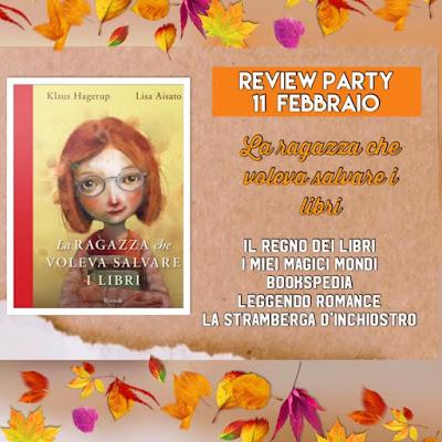 Review party La ragazza che voleva salvare i libri