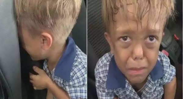 Εννιάχρονος με νανισμό ζητά από τη μαμά του σχοινί να κρεμαστεί: Δεν αντέχει άλλο μπούλινγκ-Βίντεο