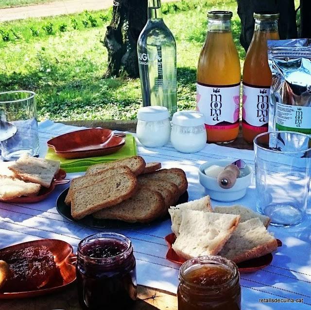 Visita a Mooma i tast de sidra catalana