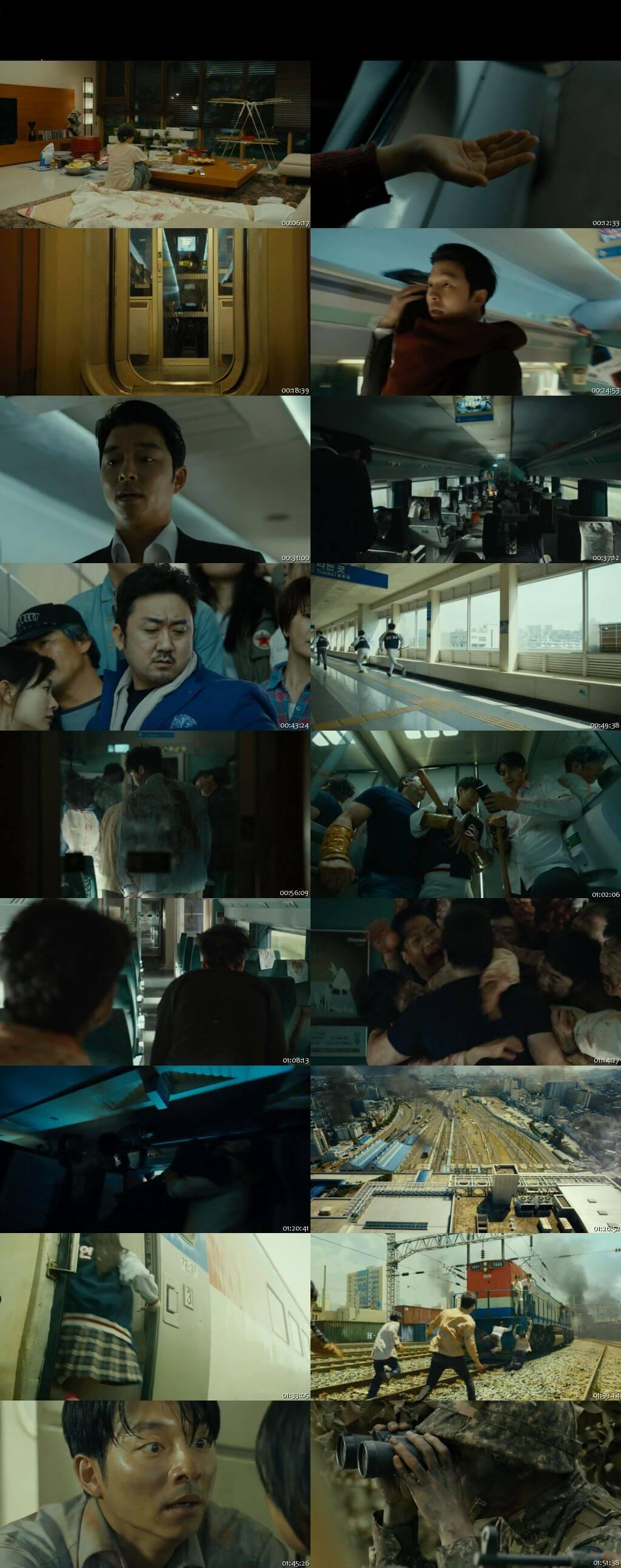 Screen Shot Of Train to Busan 2016 300MB Full Movie Hindi Dubbed Free Download 480P BRRip Small Size PC Movie
