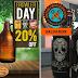 Vitrine da Cerveja e Mestre-Cervejeiro.com Salvador promovem descontos aos Sábados, o Dia do Growler!