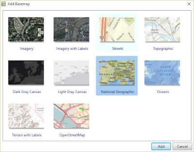 ArcGIS Basemap