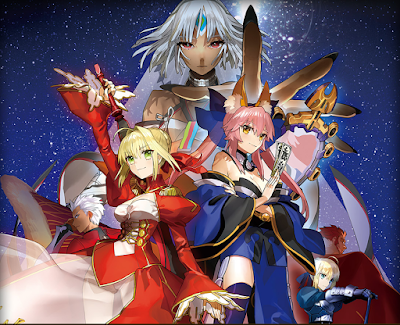 Fate Extella heroine Character