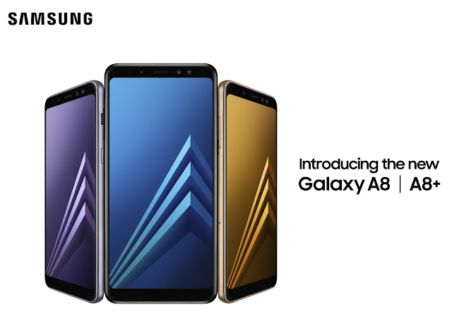 Samsung Galaxy A8 and Galaxy A8+ are now official with dual front camera and Infinity Display