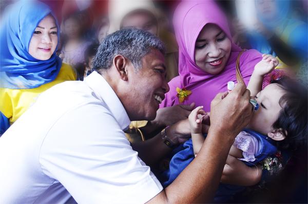 Sukseskan PIN, Dinkes OKI akan Sweaping Bayi dan Balita