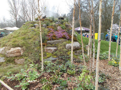 Mini landscape show garden RHS Cardiff Show 2018 Green Fingered Blog