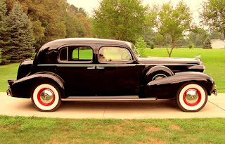 1937 Cadillac Fleetwood Brougham Side Right