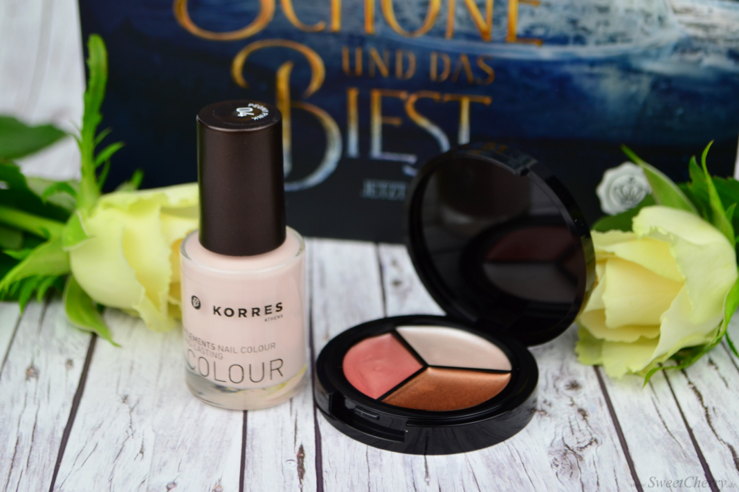 Glossybox März 2017 - Korres Nail Colour & ModelCo Highlighter