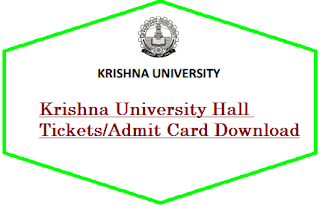 Krishna University Hall Tickets Download 2019