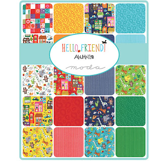 Moda HELLO FRIEND Fabric by Abi Hall for Moda Fabrics