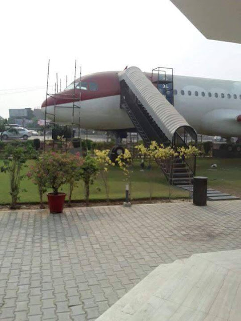 Foodmaniacs 1st Airplane Restaurant Of Punjab Opens At