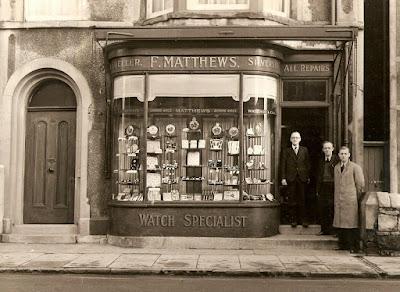 F. Matthews jeweller