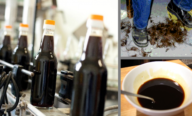 Chinese Soy Sauce Made from Human Hair