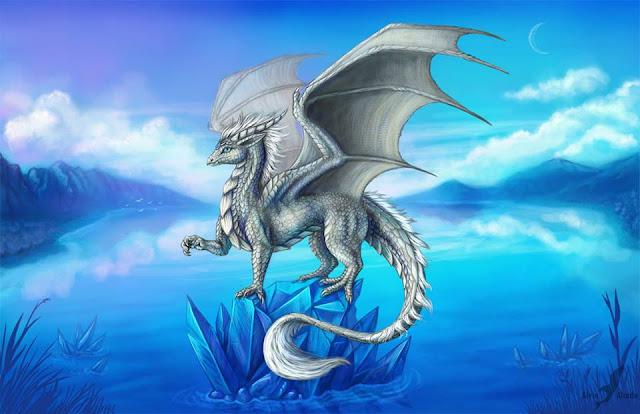 Resultado de imagen de el dragón blanco volando