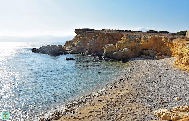 Parianos Bay en Koufonisia, Grecia