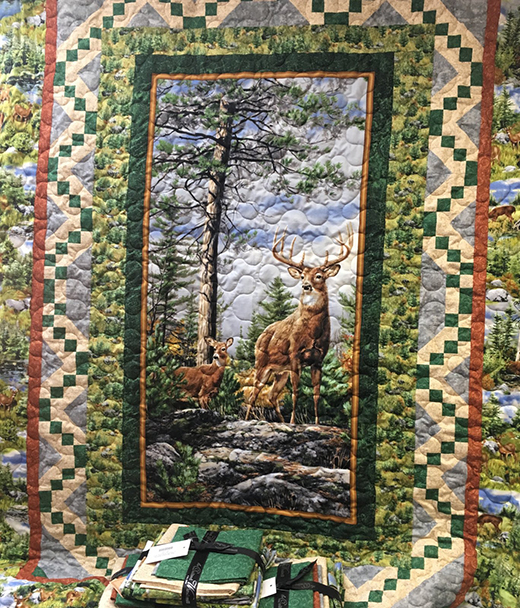Deer Mountain Quilt Free Pattern