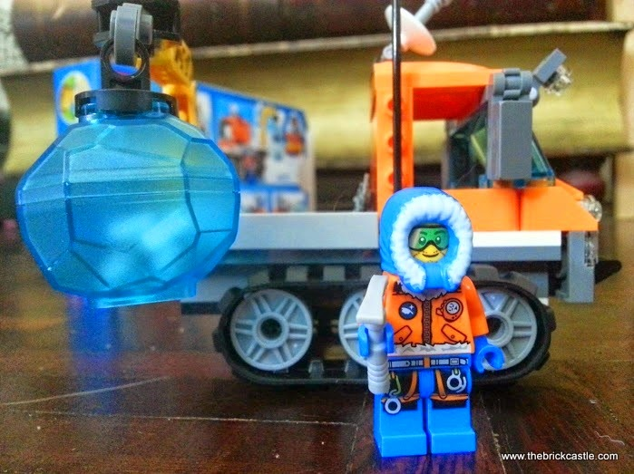 LEGO City Arctic Ice Crawler 60033 Review vehicle