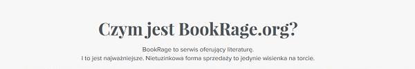 BookRage - kup pakiet e-booków i zapłać ile chcesz