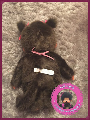 monchhichi fille 45cm 45 cm l size rainbow arc en ciel kiki géant vintage girl cute toys