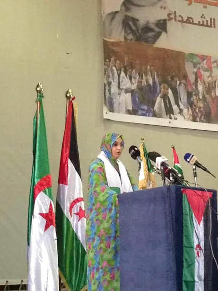ها آخر سلوكية طلقاتها أميناتو حيدار على الجزائريين
