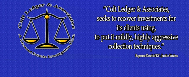 Colt Ledger Private Investigator