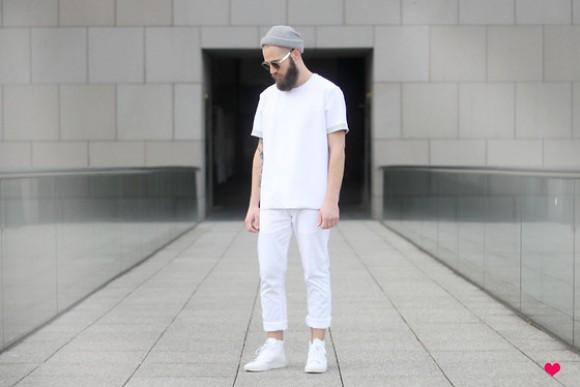 como usar visual total all white masculino, tendências 2016 masculino